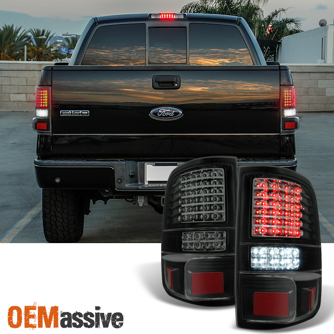 2004 2005 2006 2007 2008 ford f150 full led black smoke. Black Bedroom Furniture Sets. Home Design Ideas