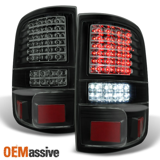 2006 2007 2008 ford f150 full led black smoke tail lights tail lamps. Black Bedroom Furniture Sets. Home Design Ideas