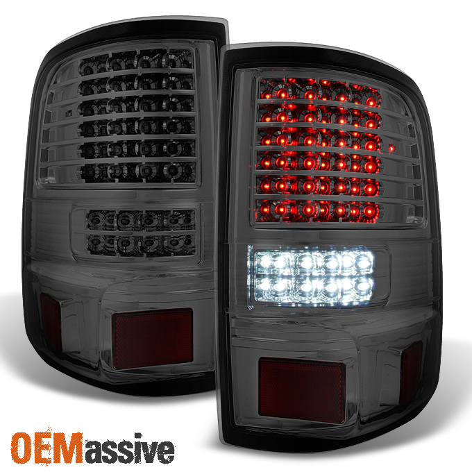 2006 2007 2008 ford f150 full led smoked tail lights tail lamps pair. Black Bedroom Furniture Sets. Home Design Ideas
