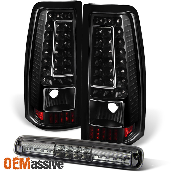 chevy silverado cargo light 1999 2002 chevy silverado gmc sierra black led tail lights 3rd brake cargo light