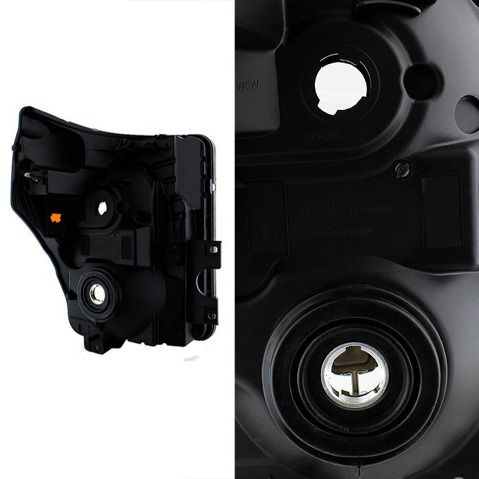 2011-2016 Ford F250 F350 F450 F550 Super Duty Pickup Black