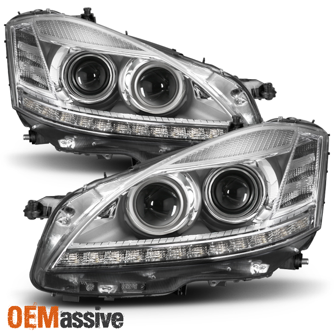 Used 2007 2009 mercedes benz w2121 s class hid afs models for Mercedes benz aftermarket headlights