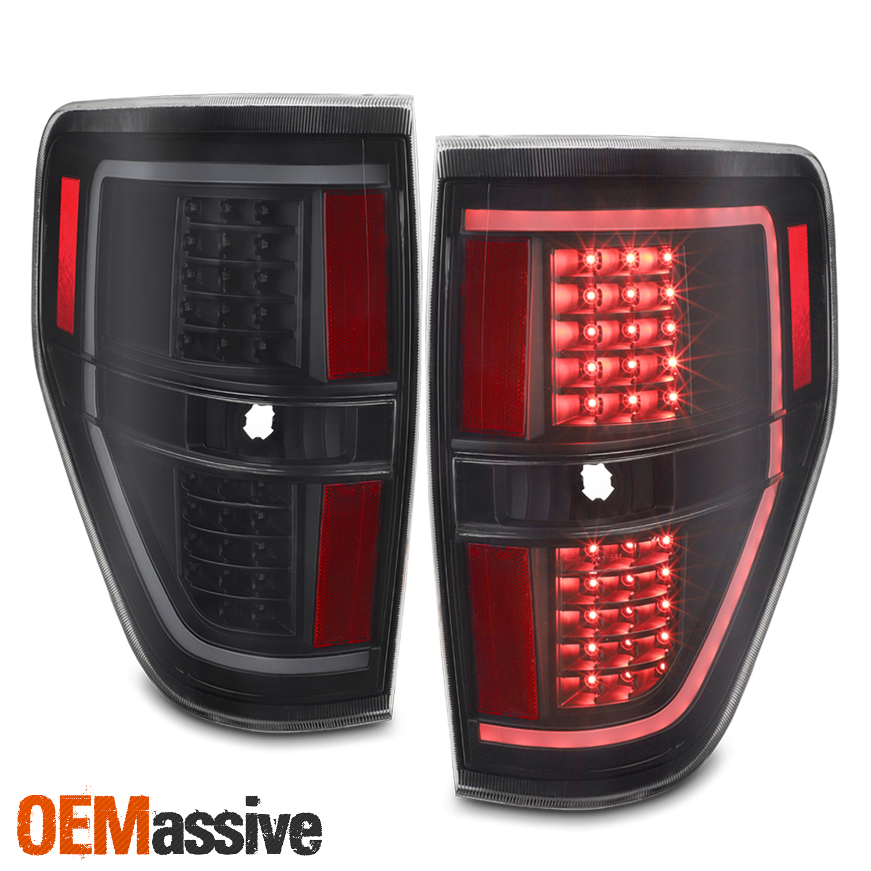 2014 F150 Headlights >> [Black] Fits 2009 2010 2011 2012 2013 2014 Ford F150 LED ...