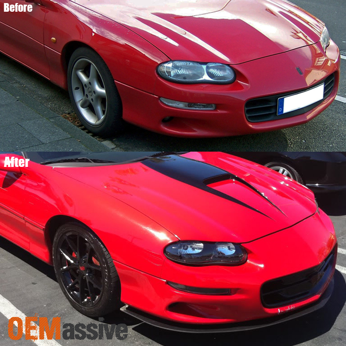 [black] 1998-2002 Chevy Camaro Replacement Headlights