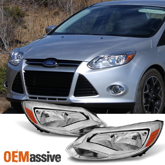 Fit 2017 Ford Focus Headlights Headlamp Embly Light Right 12 13 14