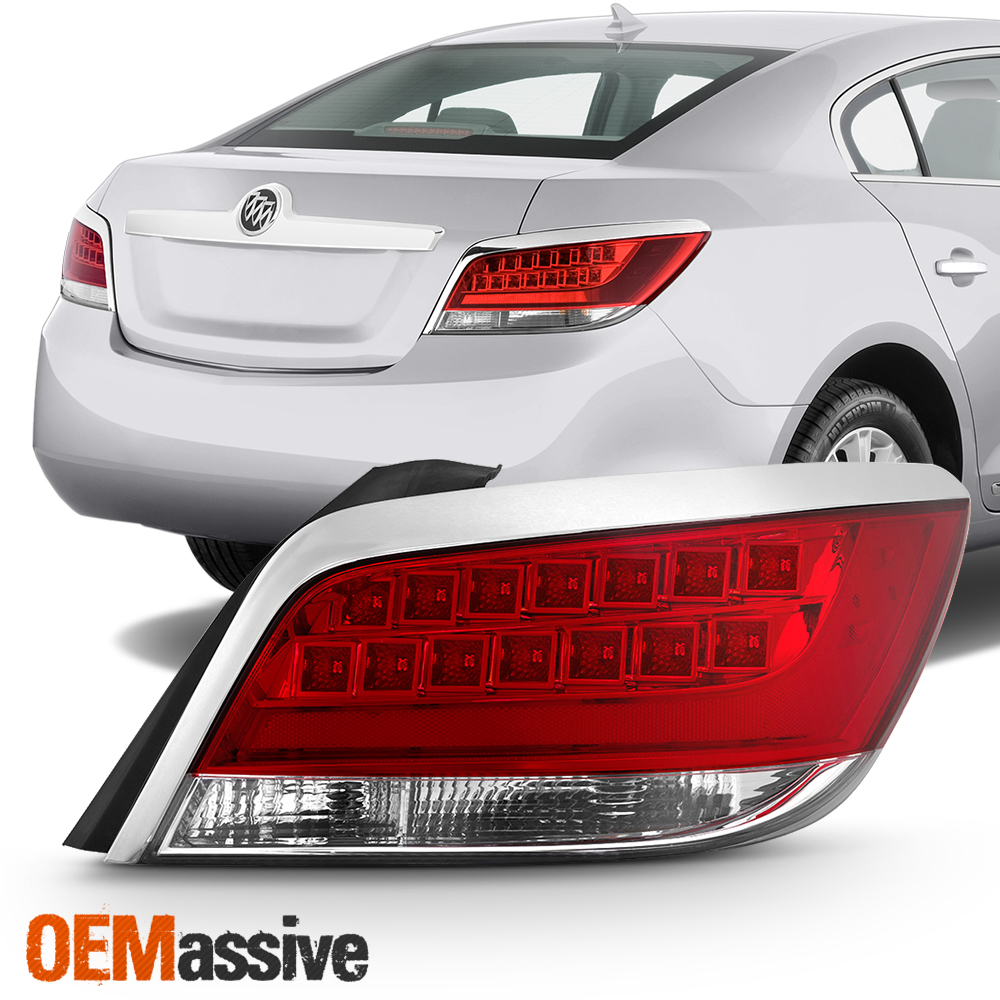 Fits 2010-2013 Buick LaCrosse LED Tail Light Driver Left Side Replacement
