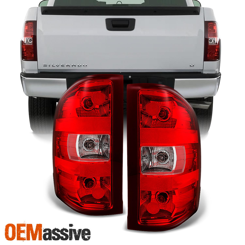 07-13 GMC Sierra 1500 2500 3500 HD Right Passenger Side Red Brake Tail Light